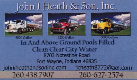 John I. Heath and Son, Inc. -- Fort Wayne Water Hauler